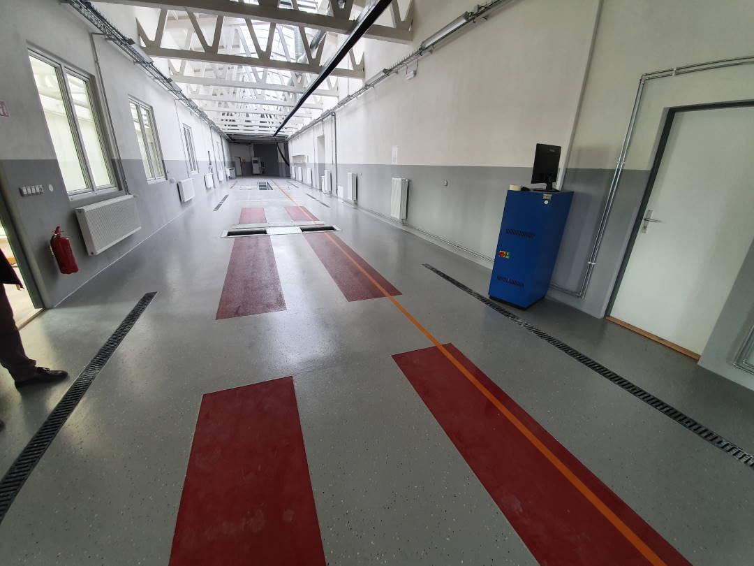 Stanice technické kontroly Bruntál Opavská - Interiér
